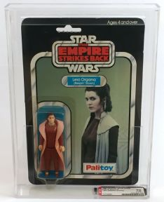 Star Wars ESB Princess Leia Bespin Gown Palitoy 30 Back AFA 70 Vintage